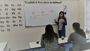 Teacher Nico レッスン風景