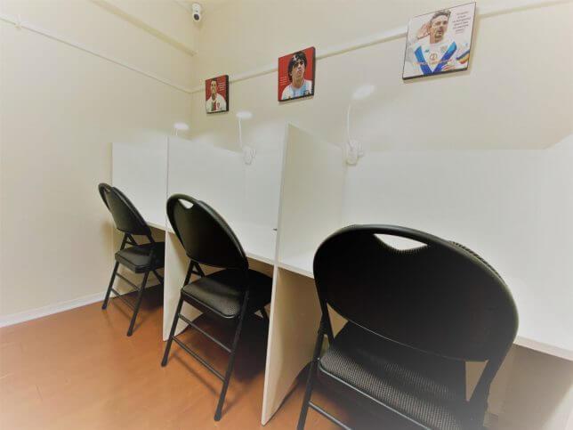 マルチ数学塾 自習室